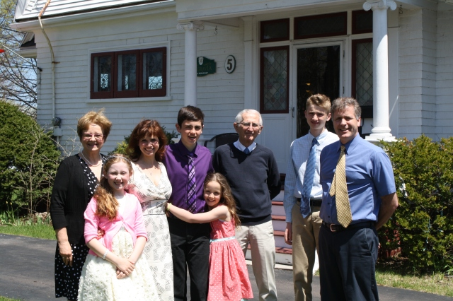 Deanna, Sarah, Anne, Alex, Olivia, Dave, Evan, D'Arcy May 2015