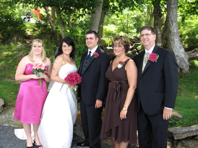 D'Arcy's brother's family