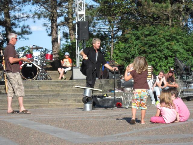 One of the Buskers