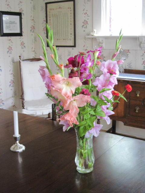 The last boquet of glads for this year
