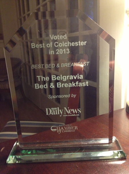 Proof! Thank you to all who voted!! We think it's beautiful!