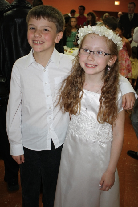 Sarah & Neil, cousins and best friends.