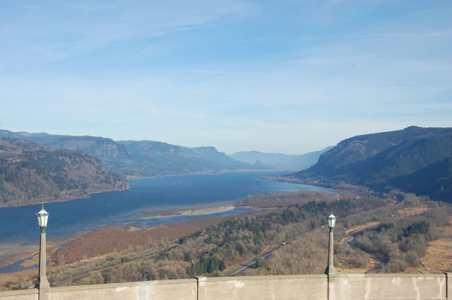 The view from Vista House.