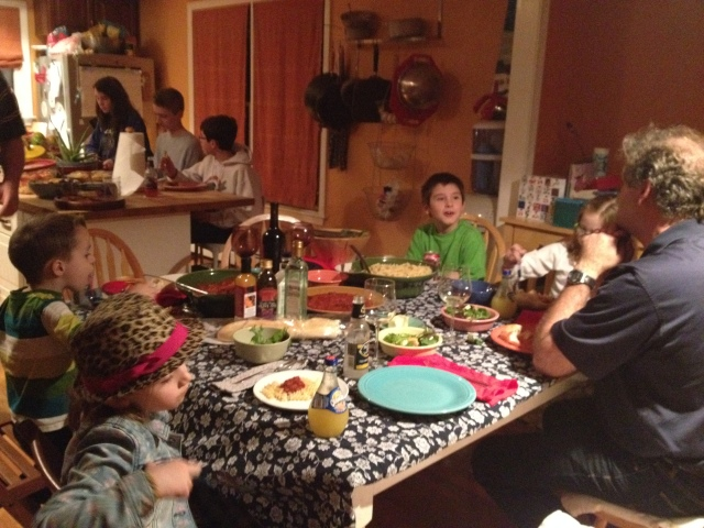 Good friends, good food, and laughter; what the holidays are all about