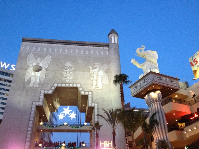 Outside the former Kodak Theatre
