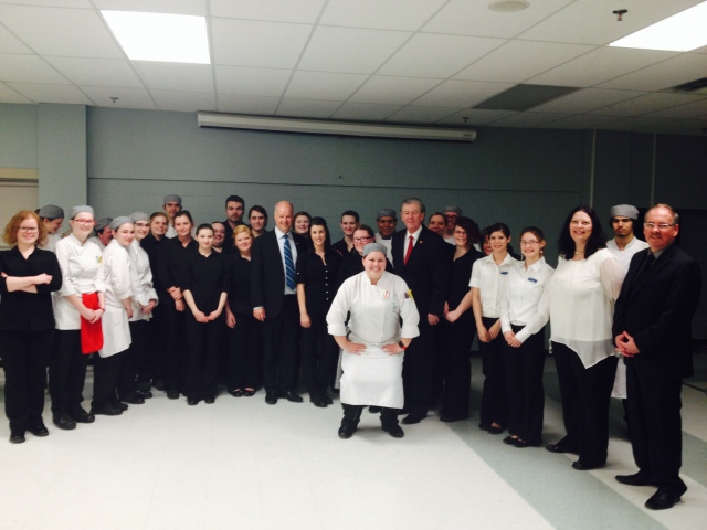 Part of the Tourism and Culinary team with Jamie Baillie, Leader of the Provincial Conservative Party