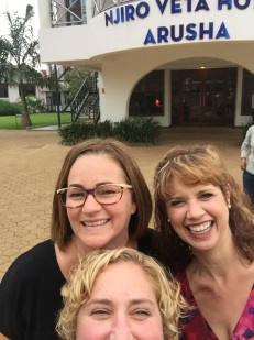 "These two women ""get me"". We are all basically the same person. So. much. fun!"