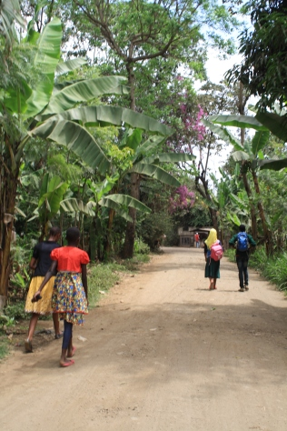 Villagers headed to market