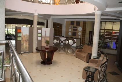 Lobby of teaching hotel