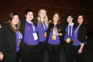 Nicole, Jennifer, Hailey, Maddie, Samantha, and Sydney - National Presentation Team